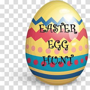 Red Easter egg , Easter Egg Hunt PNG clipart