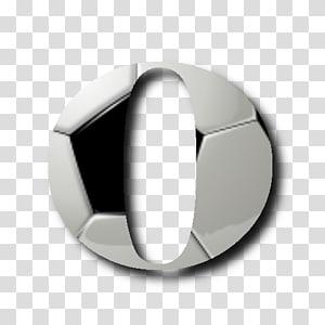 Football Alphabet Font Logo, Prata PNG