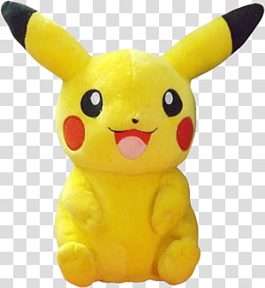 Pikachu Stuffed Animals & Cuddly Toys Pokémon Plush, pikachu PNG