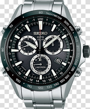 Astron GPS Navigation Systems Seiko Watch Chronograph, wall watch PNG