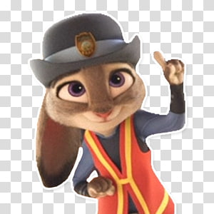 Figurine Mascot Character Animal Fiction, Zootopia PNG clipart