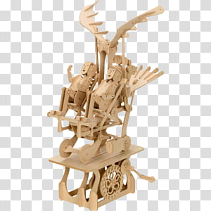 Jigsaw Puzzles Wood Puzz 3D Scale Models Plastic model, wood PNG