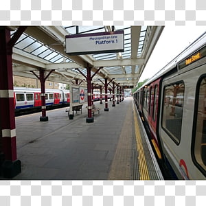 Watford tube station Rapid transit Metropolitan line London Underground Piccadilly line, train PNG clipart