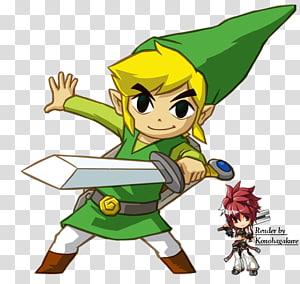 The Legend of Zelda: The Wind Waker Link The Legend of Zelda: Ocarina of Time The Legend of Zelda: Breath of the Wild The Legend of Zelda: Tri Force Heroes, link PNG