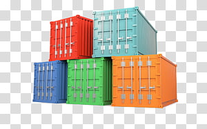Intermodal container Logistics Containerization Rail transport, Business PNG clipart