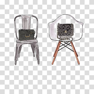 Butterfly chair Interior Design Services Illustration, Fashion Seat PNG