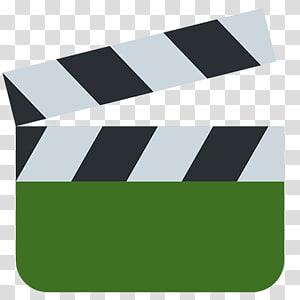 Clapperboard Emoji Quiz Film, Emoji PNG clipart