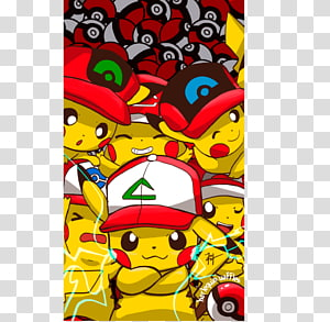 Pikachu Ash Ketchum Misty Pokémon Sun and Moon Cap, pikachu PNG