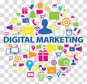 Digital Marketing , Digital marketing Advertising Marketing strategy Business, Marketing PNG