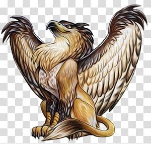 Griffin Legendary creature Mythology Dragon, Griffin PNG