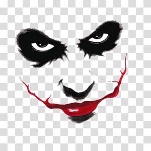 The Joker , Joker Harley Quinn Batman Two-Face Drawing, scary PNG clipart