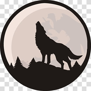 Gray wolf Coyote Lone wolf YouTube Pack, artistic PNG
