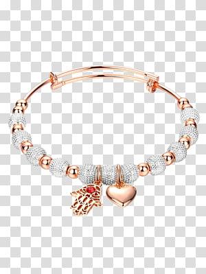 Bracelet Earring Bangle Gold Necklace, gold bracelet PNG
