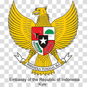 National emblem of Indonesia Pancasila Garuda Coat of arms, symbol PNG clipart