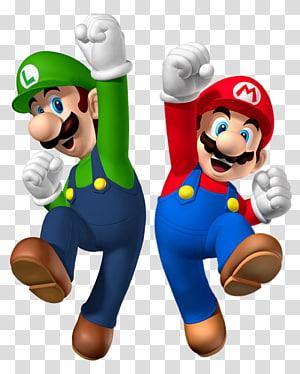 Luigi and Mario illustration, Super Mario Bros. Mario & Luigi: Superstar Saga New Super Luigi U New Super Mario Bros, luigi PNG