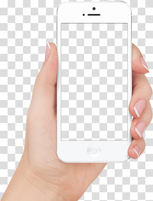 white iPhone 5, Mobile app App Store iOS Application software iTunes, Apple Iphone In Hand PNG