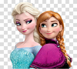 Disney Frozen Elsa and Anna illustration, Anna Elsa Frozen Kristoff Olaf, anna elsa PNG clipart