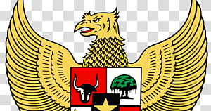 National emblem of Indonesia Garuda Symbol Pancasila, symbol PNG clipart