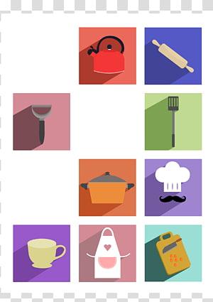 Towel Knife Kitchen utensil Fork, cooking pot PNG clipart
