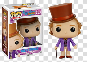 Willy Wonka Mike Teavee Charlie Bucket Violet Beauregarde Funko, toy PNG