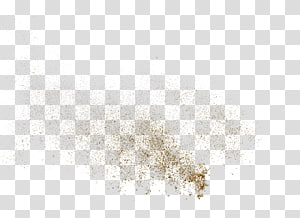 sprinkle the golden powder particles PNG