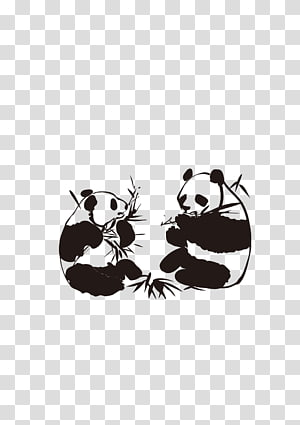 Sichuan Giant panda Decal Advertising, panda PNG clipart