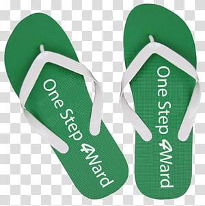 Flip-flops Product design Green, design PNG clipart