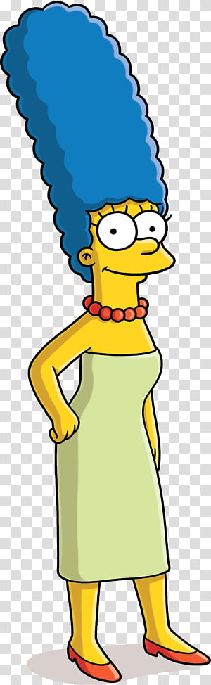 The Simpson character art, Marge Simpson Homer Simpson Bart Simpson Maggie Simpson Lisa Simpson, simpsons PNG