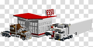 Esso Filling station Architect LEGO, others PNG clipart
