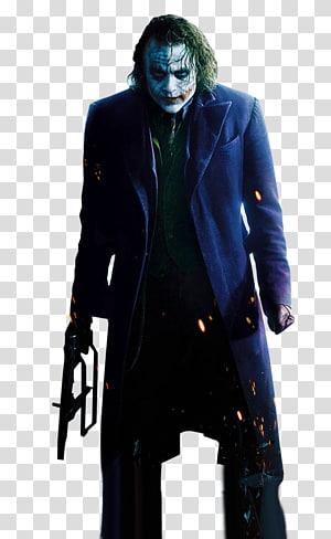 Joker The Dark Knight Heath Ledger Batman Two-Face, joker PNG clipart