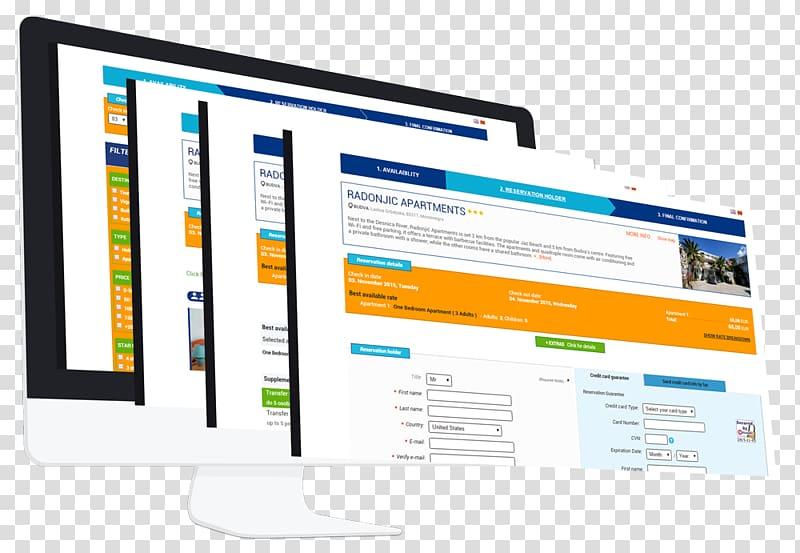Computer program Display advertising Computer Monitors Online advertising, Computer PNG