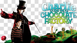Willy Wonka Charlie and the Chocolate Factory Charlie Bucket Film Fan art, charlie and the chocolate factory title PNG