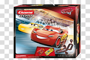 Lightning McQueen Carrera Slot car racing Cars, Cars PNG clipart