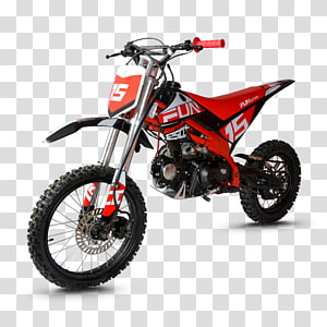 Motocross Motorcycle Pit bike Bicycle 125ccクラス, mini moto PNG