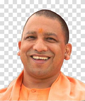 portrait of man, Yogi Adityanath Lucknow Chief minister Government of Uttar Pradesh, swamy PNG