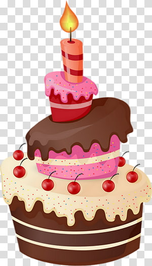 Birthday cake Cupcake Frosting & Icing Sugar cake, pastel de cumpleaños dibujo PNG