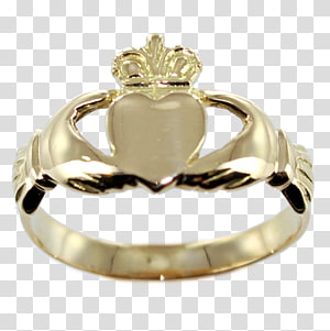 Claddagh ring Engagement ring Wedding ring Jewellery, ring PNG clipart