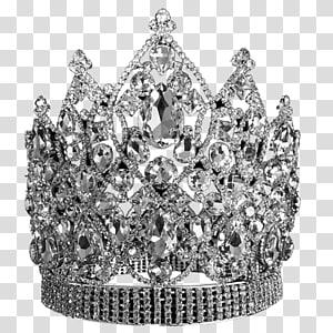 silver crown, Earring Drag queen Crown Jewellery Tiara, crown jewels PNG