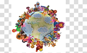 Sesame Workshop sesamestreet.org Web design The Muppets, all around the world PNG clipart