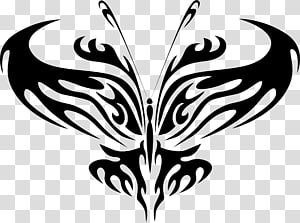 Butterfly , line art PNG