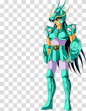 Dragon Shiryū Pegasus Seiya Phoenix Ikki Athena Cygnus Hyoga, saint saiya PNG clipart