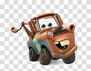 Disney Infinity Cars Mater Lightning McQueen Character, Cars, Disney Cars Mater PNG