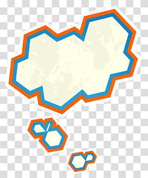 Color dialogue Cloud PNG clipart