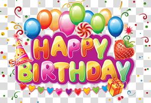 Happy Birthday illustration, Birthday cake Wish Greeting card Letter, happy Birthday PNG clipart