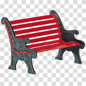 Department 56 Bench Wrought iron Village, iron PNG