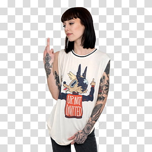 T-shirt Tattoo Clothing Pin Waistcoat, T-shirt PNG