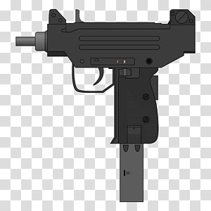 Airsoft Guns IMI Micro Uzi Submachine gun, ammunition PNG