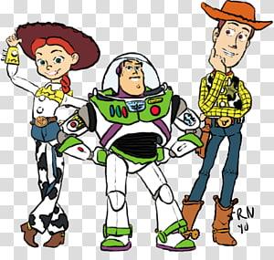 Jessie Sheriff Woody Buzz Lightyear YouTube Drawing, buzz PNG clipart