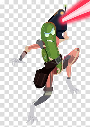 Pickle Rick Rick Sanchez Pickled cucumber Fan art Pocket Mortys, Pickle Rick PNG