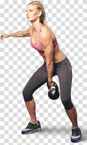 Pilates Physical fitness Kettlebell CrossFit Exercise, aerobics PNG